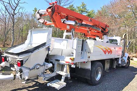 Schwing 17-Meter Concrete Boom Pump For Sale