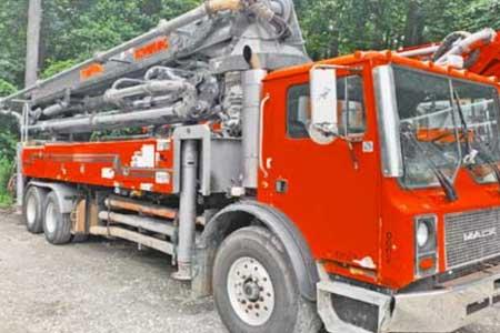 2006 Schwing 41-Meter Concrete Boom Pump For Sale | #057