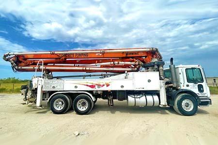 2005 Schwing 39-Meter Concrete Boom Pump For Sale | #111