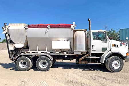 1986 Zimmerman Mobile Concrete  Mixer