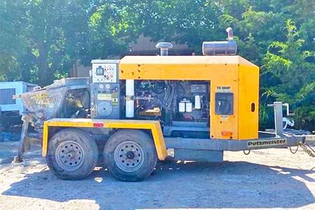 2012 Putzmeister TK60-HP Concrete Trailer Pump
