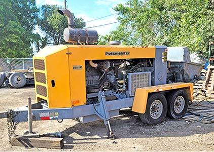 Concrete Trailer | Line Pumps For Sale