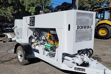 2015 Schwing SP-500 Concrete Trailer Pump