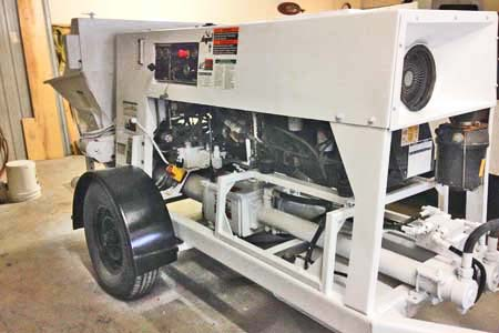 2014 Schwing SP-500 Concrete Trailer Pump