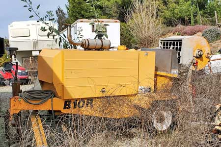 Reed B10R Concrete Trailer Pump