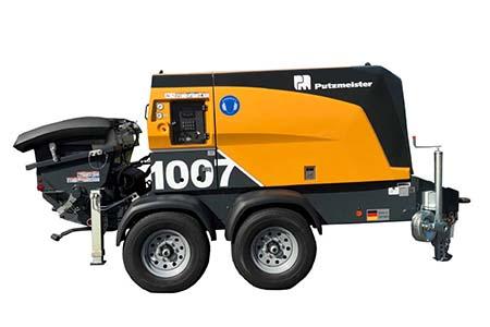 NEW Putzmeister TK-70 Concrete Trailer Pump | tp-87